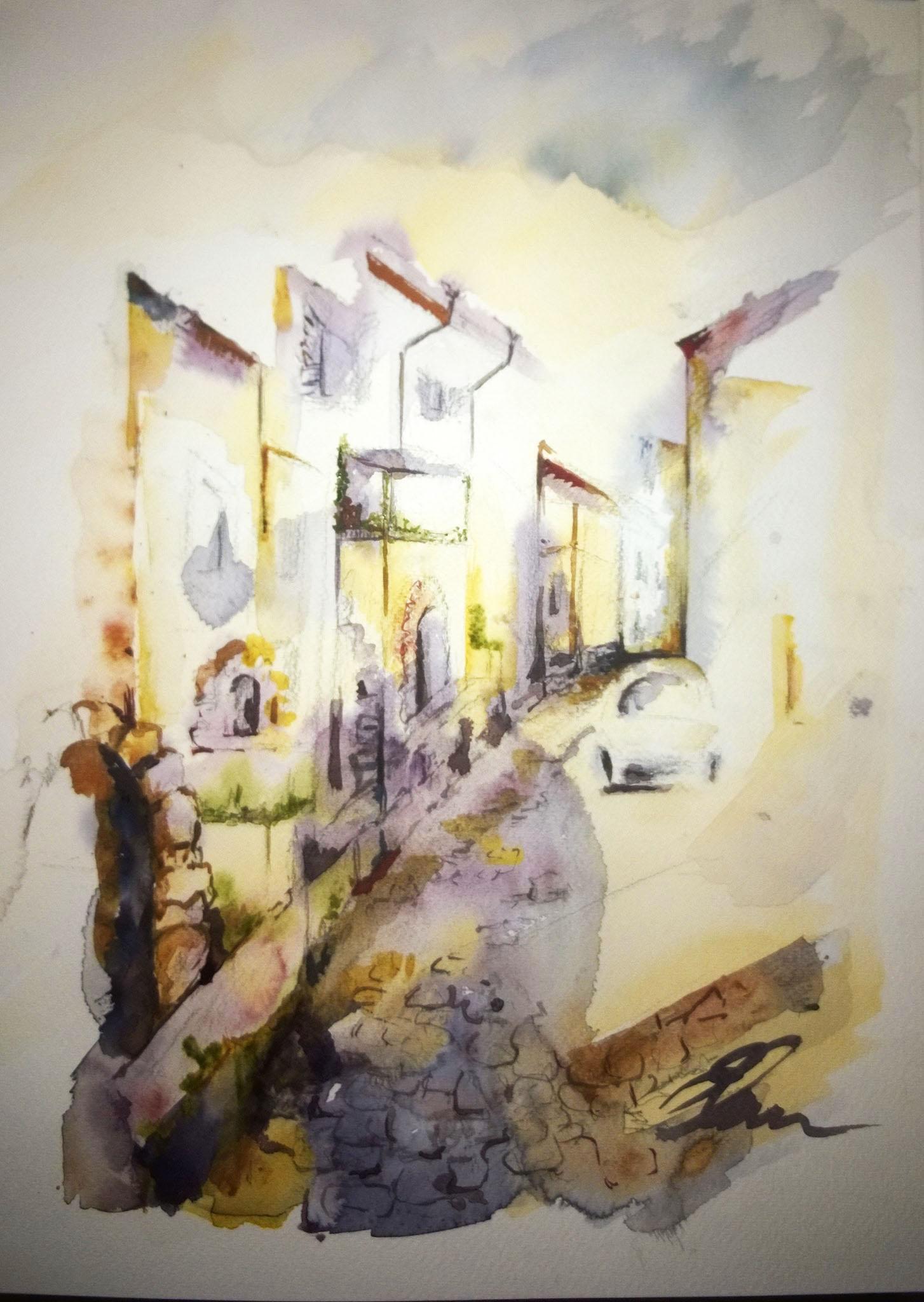 Kattys - Une rue d'Italie